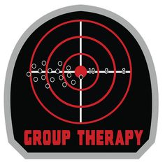 Group Therapy Morale Patch with Hook & Loop Backing Games For Playstation 4, Tactical Patches, Tactical Gear, Abc Shows, Velcro Patches, Military Humor, Morale Patch, Dark Matter, Badass Quotes