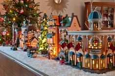 Department 56 Christmas in the City Village Display