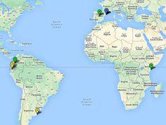 Mapa actualizado con beneficiarios