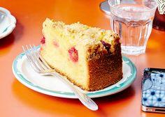Lemon Cake with Raspberries and Pistachios Recipe - Bon Appétit