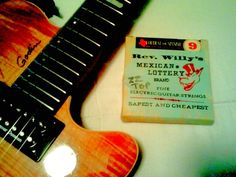 Trying out Texas style Billy Gibbons (ZZ Top) Guitar Strings