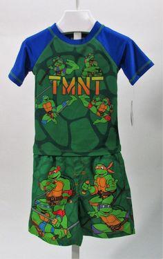 3T and 4T NWT Nickelodeon Teenage Mutant Ninja Turtles Toddler Boys Sizes 2T