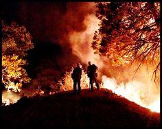 Night Operations on the Shirley Fire 2014, via InciWeb