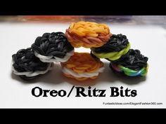Rainbow Loom Oreo/Ritz Bits Cookies Charms - http://rainbowloomsale.com/rainbow-loom-oreoritz-bits-cookies-charms/