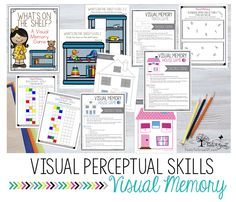 VISUAL PERCEPTION:Visual Memory activities, ideas, and resources
