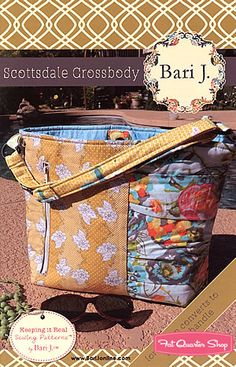 Scottsdale Crossbody Pattern Bari J. - Fat Quarter Shop