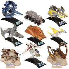 Star Wars Titanium Series Vehicle 3-Packs Wave 1 by Hasbro. $87.99. Moving parts in every 3-pack! Awesome sci-fi vehicles rendered in die-cast metal!. Here's your chance to own the cruisers, fighters, tanks, speeders, walkers, and other mind-blowing vehicles from your all-time favorite movies! The collectible and highly desirable Star Wars vehicles in this matchless assortment are designed with moving parts, real die-cast metal, and display stands.. Grab them while ...