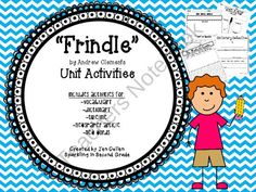 Frindle Unit From TeacherS Clubhouse  Frindle Dictionary