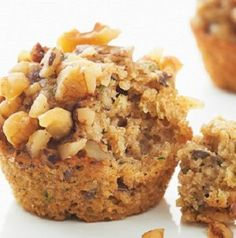 Healthy Zucchini Muffins-is a delicious recipe for a treat, dessert, breakfast or brunch option. Ingredients include: Grated zucchini, cinnamon applesauce, brown sugar and walnuts. It takes only (14) minutes of baking time for these delicious and super-moist muffins. This is also a low calories, low fat, low cholesterol, low sodium, low sugars, low carbohydrates, heart-healthy, diabetic-friendly and Weight Watchers (4 SmartPoints), (3 PointsPlus) recipe. Makes: (24) Muffins.