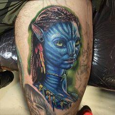 Realistic Avatar tattoo on the Scottish Tattoo Avatar Tattoo, Watercolor Tattoo, Tattoos, Tattoo Artists, Parts Of The Body, Men, Tatuajes, Tattoo, Temp Tattoo