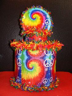World of Pinatas - Tie Dye Peace Pinata, $27.99 (http://www.worldofpinatas.com/tie-dye-peace-pinata/)
