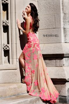 Sherri Hill - Kendall & Kylie 21161 - Comes in other colors including white (which is gorgeous!)