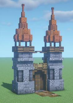 Minecraft Wall, Minecraft Houses Survival, Minecraft Images, Minecraft Cottage, Cute Minecraft Houses, Minecraft Plans, Amazing Minecraft, Minecraft Blueprints, Minecraft Creations