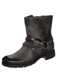 PRAY - Cowboy-/ Bikerstiefeletten - rino/antracite/taupe Taupe, Biker, Boots, Pray, Fashion, Ladies Shoes, Beige, Crotch Boots, Moda