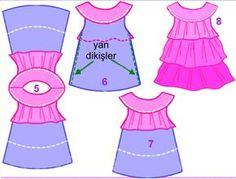 Çocuk Elbisesi Yapımı Teknikleri   E DİKİŞ