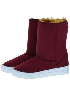 Everest Air Neo-Burgundy Adele boots.