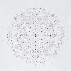 Leonardo Ulian - Technological mandala 29