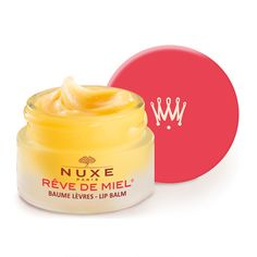 Look 1 and 2: Prep your lips with this amazing balm to make them (and your chosen lippy) look their best.  NUXE Reve de Miel Lip Balm 20th Anniversary - Red 15ml