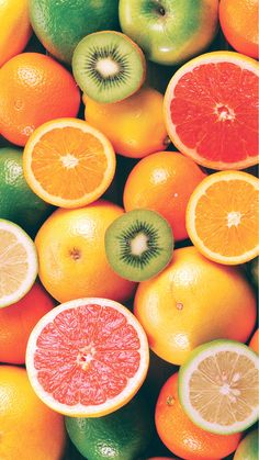 Colorful Fruit Mix #iPhone #6 #wallpaper
