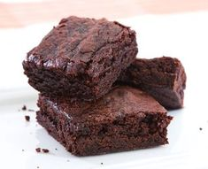 Flourless Brownies With only 3 carbs these brownies are all taste and no guilt.