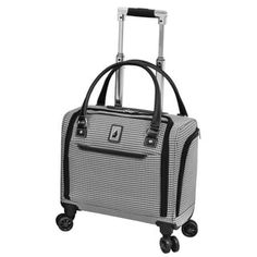 Looking for London Fog Cambridge II 15 8 Wheel Under Seat Bag, Black White Houndstooth ? Check out our picks for the London Fog Cambridge II 15 8 Wheel Under Seat Bag, Black White Houndstooth from the popular stores - all in one. Luggage Reviews, Luggage Deals, Luggage Store, Carry On Tote, Best Carry On Luggage, Houndstooth, Cambridge, Traveling By Yourself, Feminine Fashion