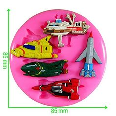 54321 Thunderbirds Are Go! International Rescue F.A.B Silicone Mould Mold for Cake Decorating Cake Cupcake Toppers Icing Sugarcraft Tool by Fairie Blessings, http://www.amazon.co.uk/dp/B00VKOU48I/ref=cm_sw_r_pi_awdl_TaqixbB9SBBSF