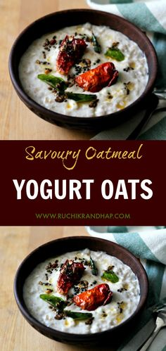 Yogurt oats is the p