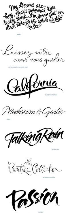 Possible Tattoo Fonts...lovin the passion!
