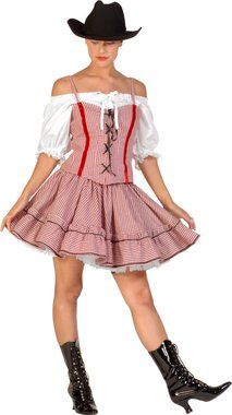 Girls Saloon Dancer Can Can Western Book Day Carnival Fancy Dress Costume Outfit