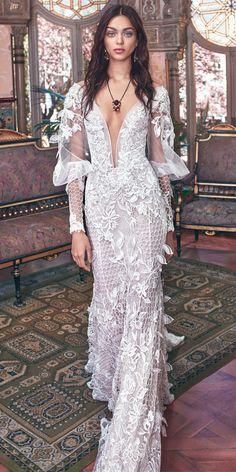 Galia Lahav 2018 Wedding Dresses - Victorian Affinity Collection ❤ See more: http://www.weddingforward.com/galia-lahav-2018-wedding-dresses/ #wedding