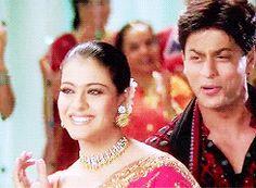 Shahrukh Khan & Kajol in Kal ho na ho