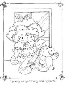 coloring pages strawberry shortcake and friends.html
