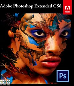 Adobe Photoshop CS6 Extended. Photo Editing Software for Windows 32/64 via Social Media. Click on the image to see more!