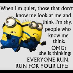 If you are search for Top Best Funny Minions Quotes and Pictures you've come to the right place. We have 17 images about Top Best Funny Minions Quotes and Pictures. Funny Minion Pictures, Funny Minion Memes, Minions Quotes, Funny Jokes, Minion Humor, Minion Sayings, Hilarious Sayings, Mom Jokes, Funny Images