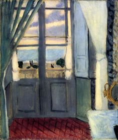 #HENRY_MATISSE * The Closed Window, 1918-1919.