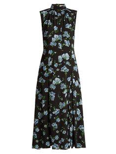 Emilia Wickstead Jolene floral-print georgette dress