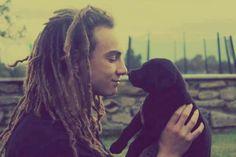 Ahw! Puppy! #dreadlocks