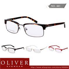 a90c1caaa0 New Fashion Free Shipping Women Men High Quality Metal Full Frame Optical  Eyeglasses Oliver Eyewear brand 441 on AliExpress.com.  29.90