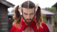 """『Ladybeard Justice Fight(レディビアード・ジャスティス・ ファイト)』2015/2/1 DVD発売 ---Richard Magarey from Adelaide , Australia bloke a J-pop sensation  """"crossdressing pro wrestler , martial arts, and heavy metal singer"""" to international J-pop sensation moved to Hong Kong played lady character called  Japanese Wu So Lui, or LadyBeard in English, takes Japan by storm"""