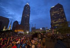 """Fly your flag with the music and fireworks at the Cleveland Orchestra's Wednesday, July 2, """"Star-Spangled Spectacular"""" on Public Square. (Scott Shaw/Plain Dealer)"""