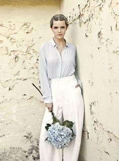 Magazine: Vogue Australia March 2012  Title: New Romantics  Model: Imogen Morris Clarke  Photographer: Max Doyle  Stylist: Meg Gray