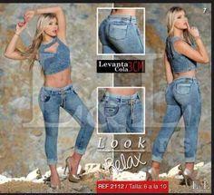 jeans pantalones control de abdomen levantacola para damas