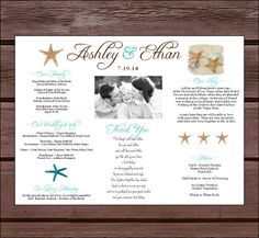 Wedding Placemats.  What a cute idea for your reception tables!