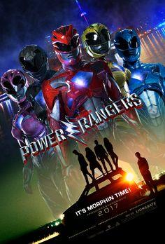 2017 Power Rangers Movie Poster (Fake). by AkiraTheFighter24 on @DeviantArt