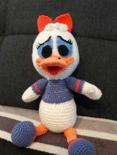 Daisy Duck gehäkelt