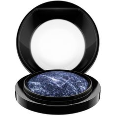 Mac Blue       Flame Mineralize Eye Shadow ($22) ❤ liked on Polyvore featuring beauty products, makeup, eye makeup, eyeshadow, blue flame, mac cosmetics, mac cosmetics eyeshadow, blue eyeshadow, heavy eye makeup and mineral eyeshadow