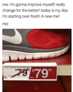 Laugh yourself silly with some relatebale memes. Funny Signs, Funny Jokes, Hilarious, I Need A Job, Nike Shoes, Sneakers Nike, Everything Funny, Finding God, Bad Person