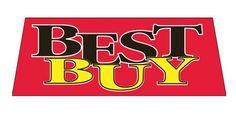 BEST BUY Car Dealer Windshield banner sign - Click Image to Close