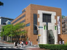 Architect - James Stirling.  Project - Sackler Museum, Harvard Art Museums.  Location-  Harvard University, Cambridge, MA, USA.  Date- 1985