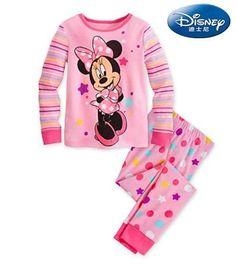 Disney Pyjamas - Minnie Pink Polkadot (1-7y)  7cb637647